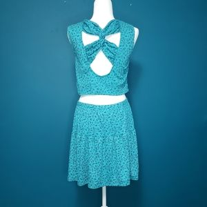 Vintage 80s two piece